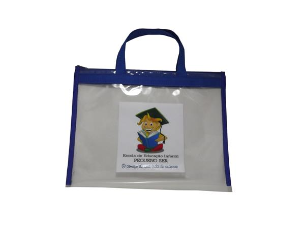 ef8032b5f Sacola Envelope SCDT2838. Sacola tipo pasta envelope, confeccionada em PVC  cristal 0 ...